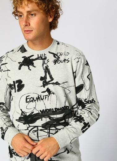 Only Sweatshirt Gri